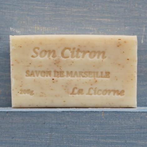 LIMONE e CRUSCA Saponetta di Marsiglia 200g
