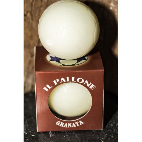 PALLONE da CALCIO granata di sapone di Marsiglia 200g