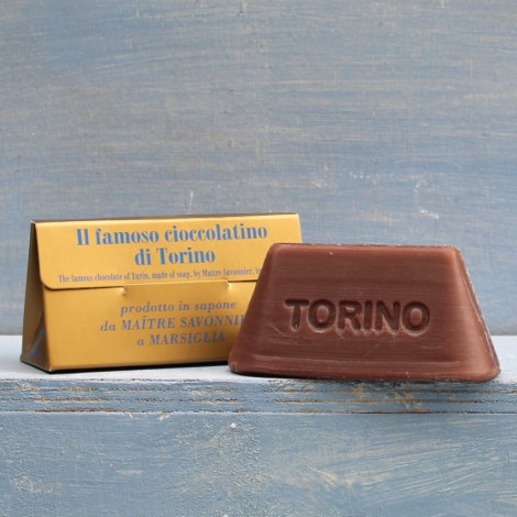 GIANDUIOTTO di sapone di Marsiglia al cioccolato 100g