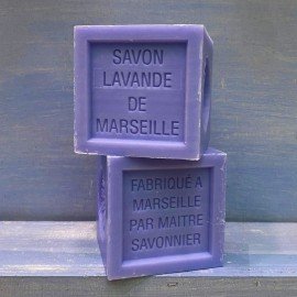 Cubo di Marsiglia LAVANDA 300g