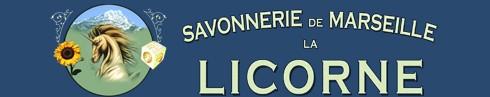 Logo sapone di Marsiglia la Licorne